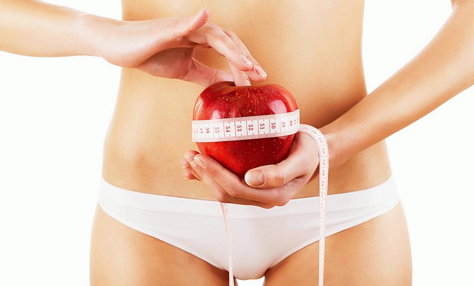Haskörfogat mérése diéta előtt, alatt, után.