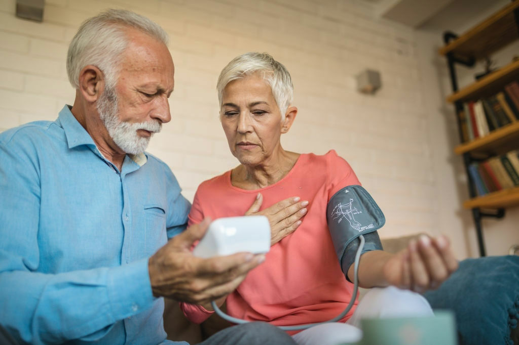 Vérnyomásmérő használata