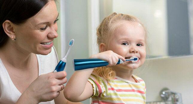 Elektromos fogkefe gyerekeknek