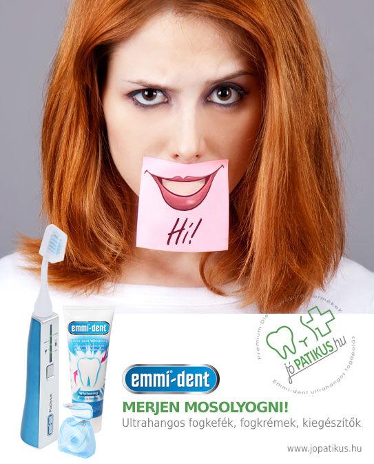 Emmi-dent Platinum ultrahangos fogkefe és ultrahangos fogkrém - jópatikus