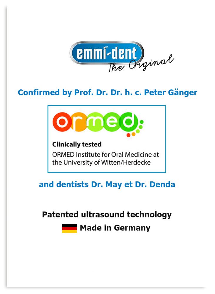 Ultrahangos fogkeféinket klinikailag tersztelte az ORMED - jopatikus.hu