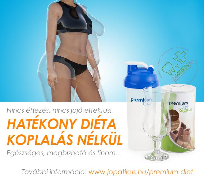 Premium Diet - Hatékony diéta koplalás nélkül