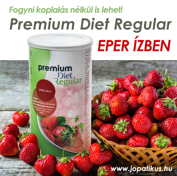Premium Diet Regular - eper ízben - jopatikus.hu