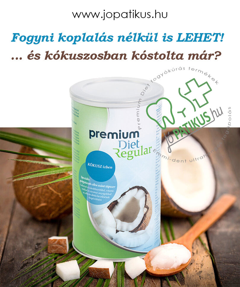 Kókuszos Premium Diet Regular - jópatikus