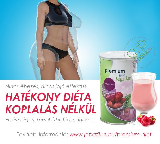 Hatékony diéta koplalás nélkül - Premium Diet Regular málna ízben