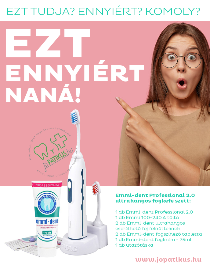 Ultrahangos elektromos fogkefe - Professional 2.0 - jopatikus.hu