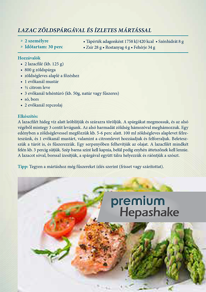 Fogyókúrás ételek - májbarát receptek - jópatikus
