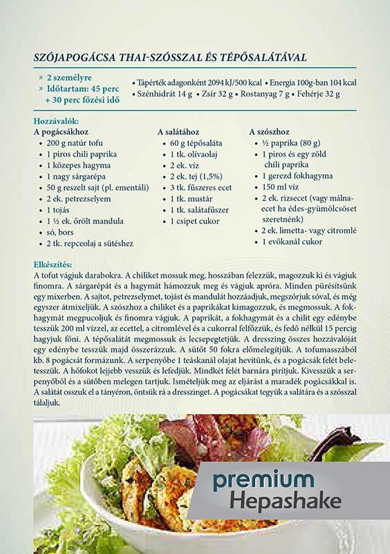 Fogyókúrás ételek - májkímélő receptek - jópatikus