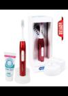 Emmi-dent Metallic ultrahangos fogkefe sötétkék + Emmi-dent fogkrém
