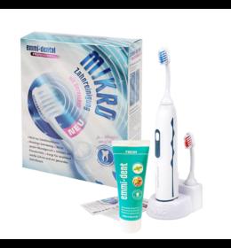 Emmi-dent Professional 2.0 ultrahangos fogkefe + fogkrém + pótfej + fogszínező tabletták