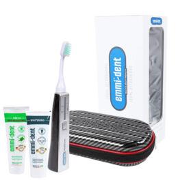 Emmi-dent Platinum ultrahangos fogkefe carbon + Emmi-dent fogkrém