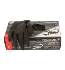 Black Scorpion latex kesztyű (100 db)