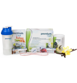 Premium Diet Go kezdőcsomag - vanília ízű Go-val