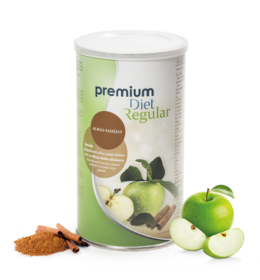 Premium Diet Regular - almás-fahéjas ízű (440g/25 adag)