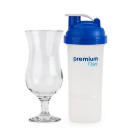 Premium shaker és koktélpohár (1+1)