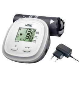 Nissei DS-11A automata, felkaros vérnyomásmérő, hálózati adapterrel