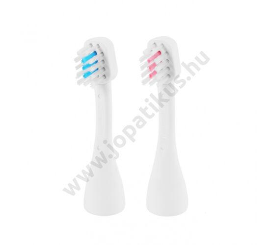 ultrahangos fogkefe, ultrahangos fogkefefej, cserélhető fogkefefej, emmi-dent fogkefefej