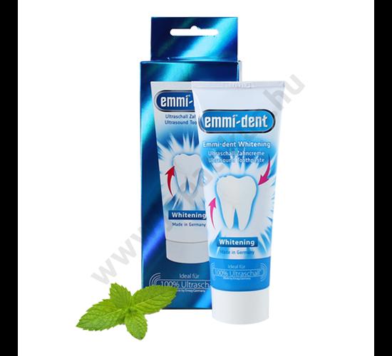 Emmi-dent Whitening - ultrahangos fogfehérítő fogkrém