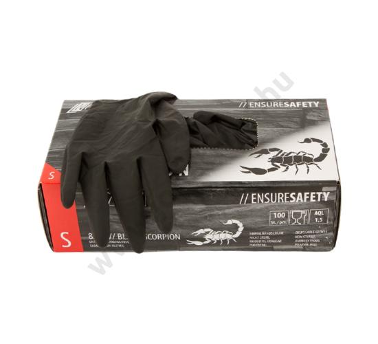 Black Scorpion latex kesztyű