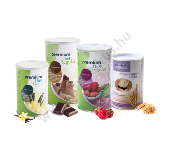 Premium Diet akciós kezdőcsomag - vanília ízű Go-val