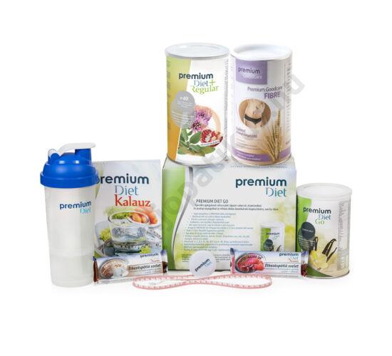 Premium Diet, Regular, Go, Fibre