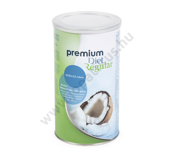 Premium Diet Regular - kókusz ízű