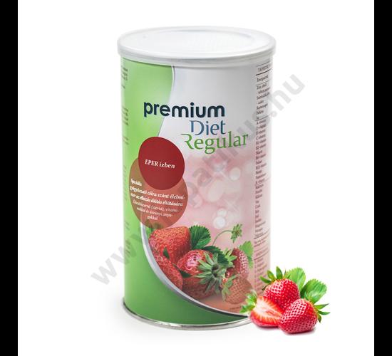 Premium Diet Regular - eper ízű