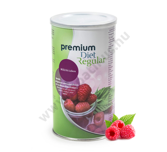 Premium Diet Regular - málna ízű