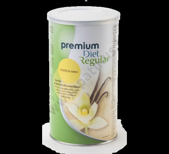 Premium Diet Regular - vanília ízű